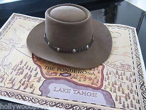 BONANZA LITTLE JOE CARTWRIGHT MICHAEL LANDON STETSON WESTERN COWBOY HAT SIZE 7