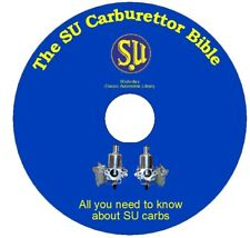 The SU Carburettor Bible DVD-ROM 2nd Edition
