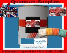 Transparente el pigmento azul 6798 100 g de resina de poliéster / Agua Transparente De Resina