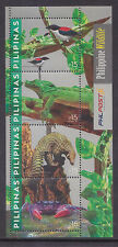 Philippines Stamps MNH 2015 Wildlife (Birds, Reptiles, Crab) miniature sheet
