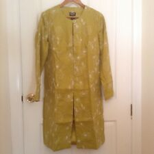 BNWT Per Una Speziale Womens Ladies Green Embroidered Jacket Coat Size 12