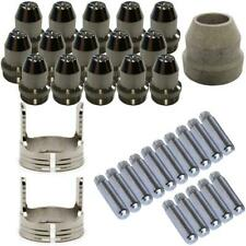 Plasma Cutter Consumables Sets for Brown LTP5000D and Brown LTPDC2000D (33-Piece