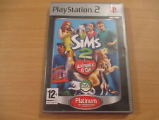 jeu playstation 2 les sims 2 animaux & cie