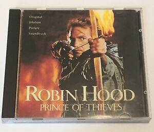 Robin Hood Prince of Thieves Soundtrack CD - Music by Michael Kamen