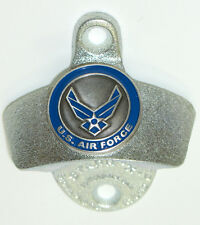BOTTLE OPENER US Air Force Emblem Starr X Cast Iron Wall Mount Beer Soda