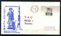 Stati Uniti 1969 Mi. 638 Busta 100% SAC Minuteman I