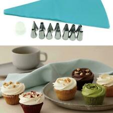 8/16pcs Cake Decorating Tools Bags Russian Piping Tips Nozzles Pastry Icing