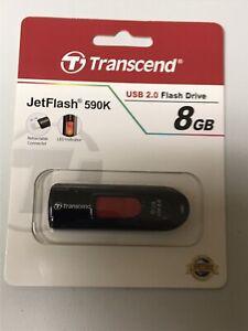 Transcend USB 2.0 Flash Drive 8GB JetFlash 590K