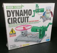 KidzLabs 4M Green Science Dynamo Circuit Educational New Christmas Technology