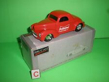 BUDWEISER 1941 WILLYS COUPE Die Cast 1:25  Spec Cast Liberty Classics NEW MIB C