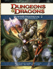 Player's Handbook 2 4th Edition D&d Supplement Dungeons & Dragons Hardcover
