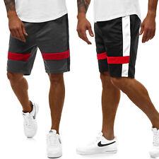 Pantalones brevemente pantalones de deporte aerobic fitness monocromo Sport Shorts caballero ozonee js/81012