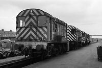 British Rail 08 393 Doncaster Works Quality 6x4 inch Rail Photo