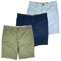 "Timberland Men's Flat Front 11"" Inseam Twill Chino Shorts A1O89"