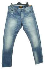 Superdry Jeans W33 X L32 Loose Taper Biker Blue