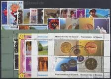 KOSOVO UNMIK - JAHRGANG YEAR 2006 KOMPLETT # 43-63 GESTEMPELT CANCELED