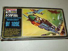 HASEGAWA Model Kit - German Fighter Messerschmitt BF 109E 1/72 Unassembled # 107