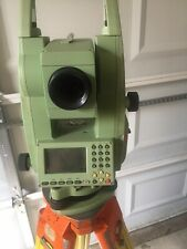 LEICA TCR703 TOTAL STATION WITH CASE