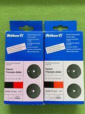 2 x Farbband Pelikan Zubehör für CANON und TRIUMPH-ADLER Rechenmaschine