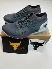 Under Armour UA Men's Project Rock 2 Training Shoes Pitch Gray Size 9.5 NWB