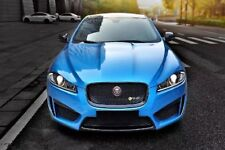 Jaguar XF XFR to XFR-S Full Body Kit Upgrade 2012+ X250 With Racing Big Spoiler
