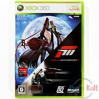 Twin Pack Bayonetta & Forza Motorsport 3 [JAP] sur Xbox 360 NEUF sous Blister