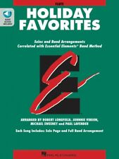 Essential Elements Holiday Favorites Flute Book and Online Audio 000870004