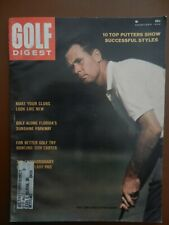Tony Lema 3 Vintage Golf Digest & Golf Magazines Oct 1963; Dec 1964; Aug 1966