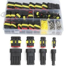 US 26 Sets Waterproof Car Auto Electrical Wire Connector Plug 1-4 Pin Way Plug