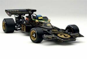 EXOTO 1:18 JPS Lotus Ford 72E Ronnie Peterson Winner 1973 ITALY GP+kimi pc N cmc