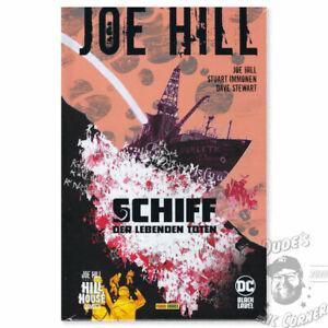 Joe Hill – Schiff der lebenden Toten Hardcover Comic Hill House Comics Panini