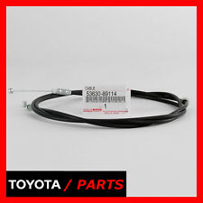FACTORY TOYOTA 1989-1995 PICKUP 4RUNNER HOOD RELEASE CABLE 53630-89114 OEM