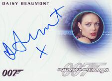 James Bond 2016 Classics Autograph Trading Card A286 Daisy Beaumont