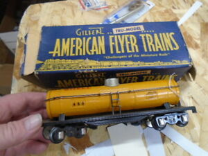 AMERICAN FLYER   s scale #480 SHELL TANK CAR,