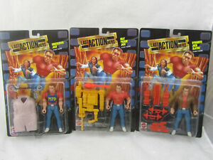 NEW Last Action Hero Lot of 3 Heat Packin' / Undercover / Dynamite Jack Figures