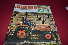 Kubota L3750 Tractor Dealers Brochure DCPA2