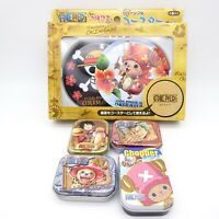 ONE PIECE Anime Character 2 Coasters & 4 Mini Cans Set