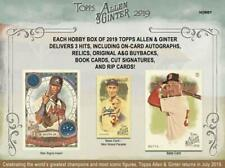 Baseball Cards Topps Allen and Ginter 2019, Base, RC, Sp, Inserts! You Pick!