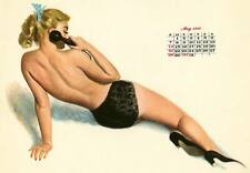 May 1950 Pinup calendar from Esquire  8 x 10 Giclee-Iris print