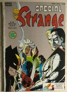 STRANGE SPECIAL #56 French color Marvel Comics album (1988) X-Men She-Hulk VG