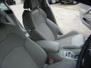 CITROEN C5 GREY LEATHER SEATS & DOOR TRIMS X7 09/08-12/11