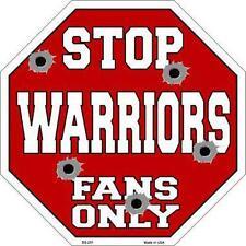 NBA Basketball Golden State Warriors Metal Stop Sign Man Cave Garage Barn BS251