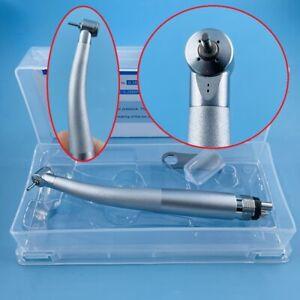 Dental High Speed Handpiece Pedo Pediatric Push Button Mini Small Head 2/4 HOLE