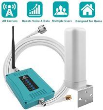 5-Band 800/900/1800/2100/2600MHz 2G 3G 4G Signalverstärker Handy Repeater Kit DE