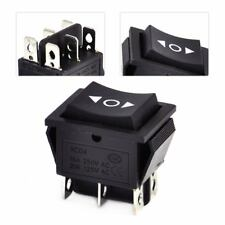interrupteur a bascule 6 Pin 3 positions DPDT ON OFF AC 250V 16A Rocker Switch