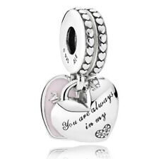 "Original Pandora Charm Anhänger 792072EN40 ""Mother & Daughter"" Emaille 925Silber"