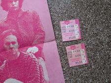 The Doors Original Concert Ticket Stub Pair Westbury Music Fair April 19, 1968