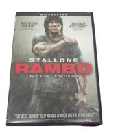 Rambo: The Fight Continues [DVD] Sylvester Stallone Sly 2008