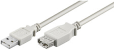 LogiLink USB 2.0 Verlängerungskabel A Stecker auf A Buchse / Kupplung 5,0m grau