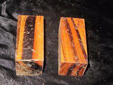 JOBILLO TURNING BLANKS-1.5X1.5X3- 2PCS W/FREE SHIPPING-EXOTIC WOOD